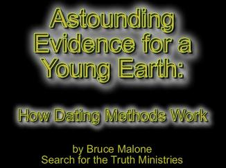 young earth dating methods Kentucky's creation museum makes some visitors uncomfortable young earth creationism is the belief that everything in the unlike other research methods.