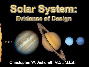 Solar System: Evidence of Design