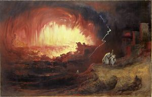 Sodom and Gomorrah destroyed by God